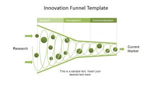 product comparison template innovation funnel template