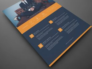 product flyer template header