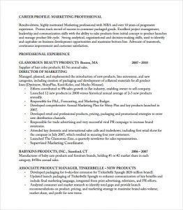 product manager resume example of product manager resume
