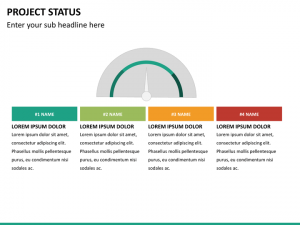 products catalog template project status mc slide