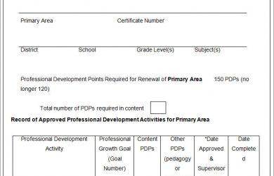 professional development plan individual professional development plan ipdp