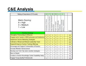 professional development plans example strategic planning deployment using the x matrix w