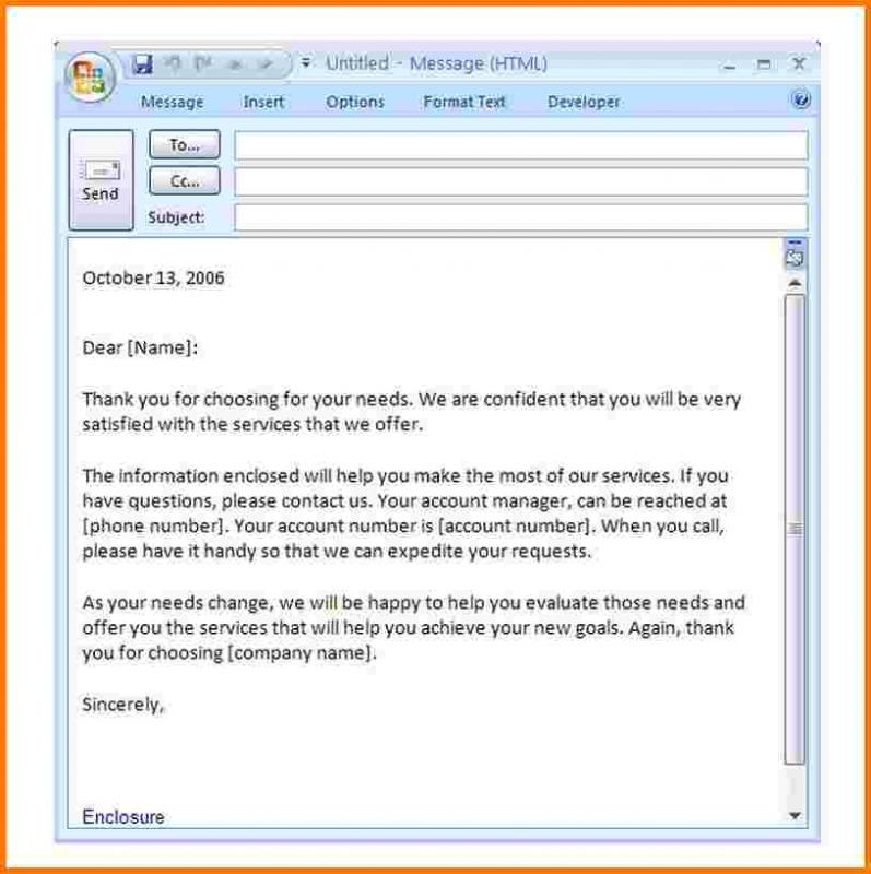 professional email templates