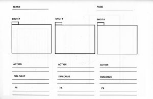 professional film storyboard template storyboard template