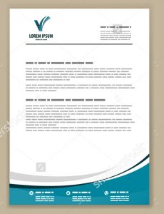 professional letter head passionate corporate letterhead style template download