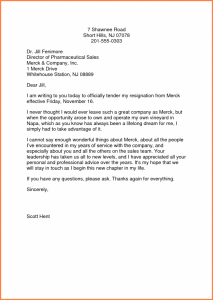 professional letter of resignation professional letter of resignation director pharmaceutical professional letter of resignation template sales merck company writting x