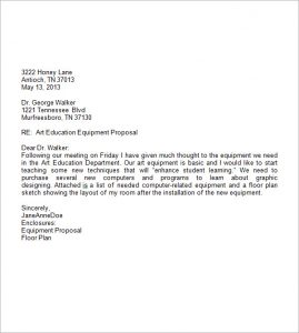 professional letter template professional business letter