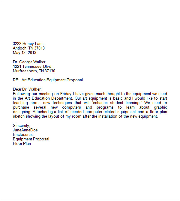 Professional Letter Template  Template Business