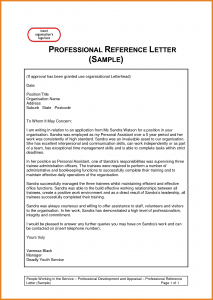 professional reference letter template professional reference template professional reference letter template qclwlw