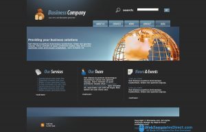 professional website templates web template