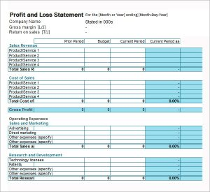 profit and loss template for self employed fillable sample profit and loss statement