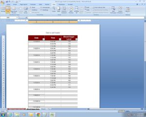 program budget template il xn ksfx