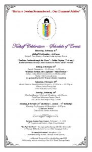 programme template word barbara jordan th birthday celebration schedule