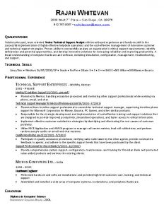 programmer resume example it resume examples and samples qualifications and technical skills