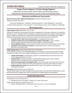 programmer resume example student resume examples