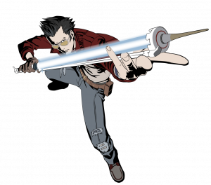 progress report format travis touchdown vector by a scream djuof