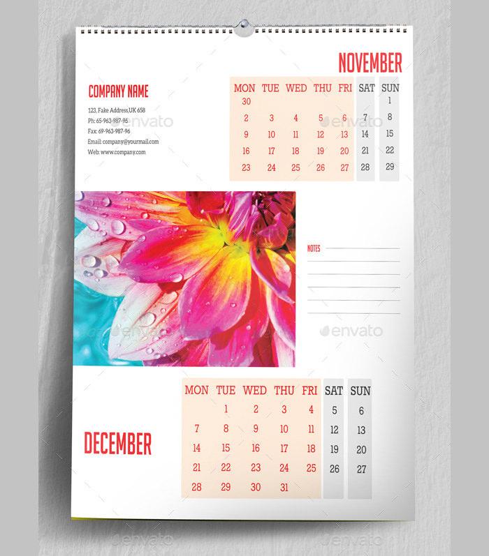 project calendar template