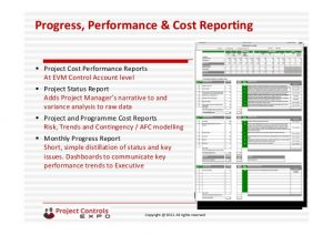 project calendar template project controls expo nov london an introduction to performance measurement reporting and change control system speaker by david birch