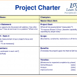 project charter example project charter template