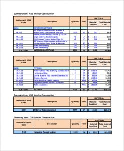 project estimate template project basic estimate template