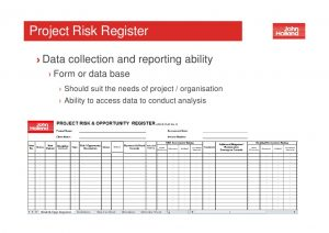 project estimate template workshop project risk management june