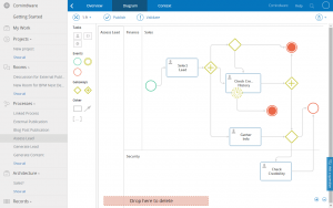 project management forms bpmn modeling