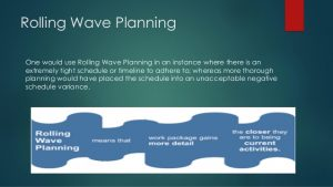 project management forms pdd rolling wave planning v