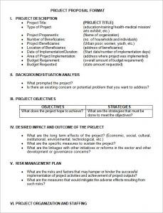 project proposal sample project proposal format