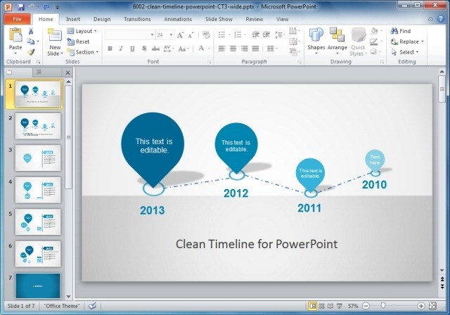 project timeline template word
