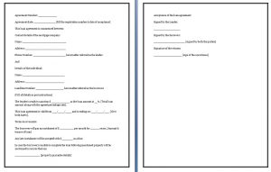 promissory note for car short term loan agreement form template