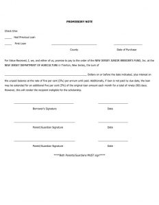 promissory note templates free promissory note template