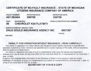 Proof Of Auto Insurance Template Free Template Business - Fake car insurance card template