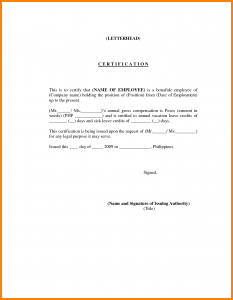 proof of employment letter sample working employee certificate employment certificate letter template