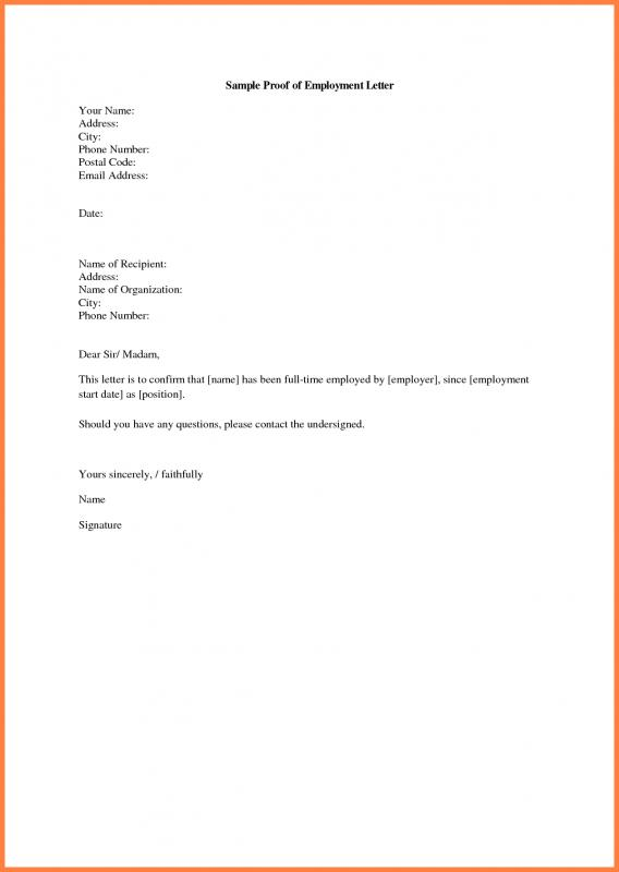 Proof of income letter from employer template business proof of income letter from employer thecheapjerseys Image collections