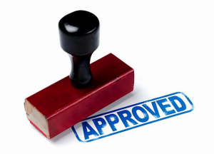 proof of income self employed approved stamp