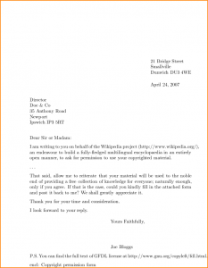 proper outline format a proper letter format example