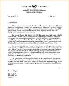 proposal letter example academic recommendation letter format un letter