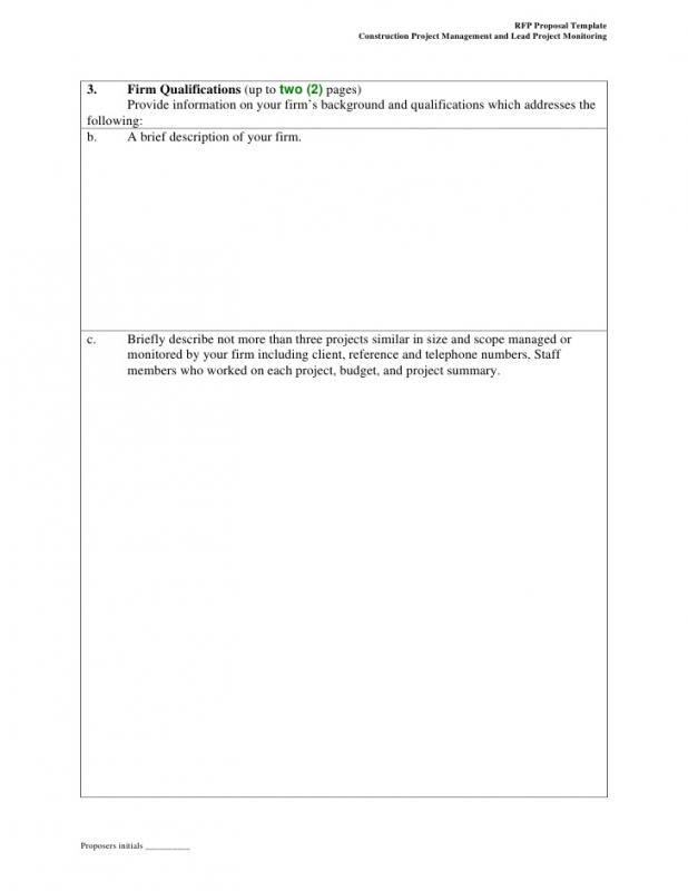 Proposal Letter Template  Proposal Letter Outline