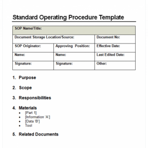 proposal template doc sop image
