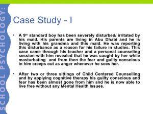 psychology case study examples school psychology