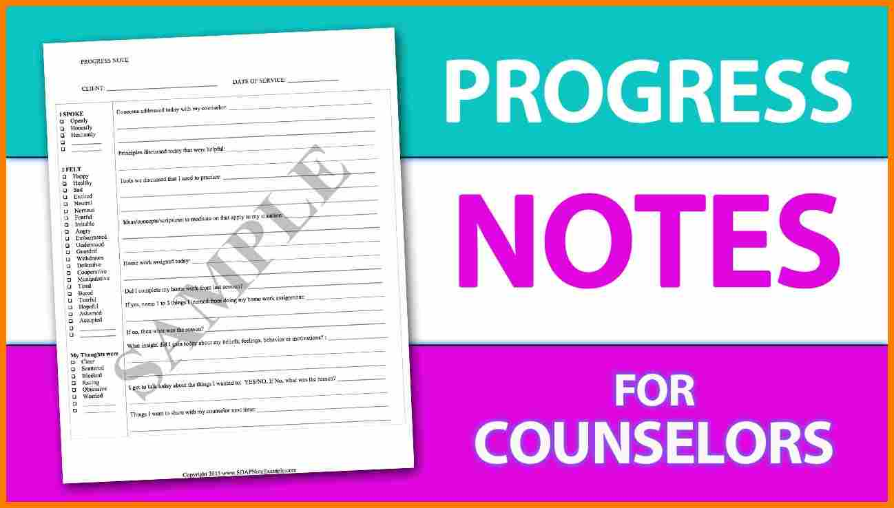 psychotherapy progress note template pdf