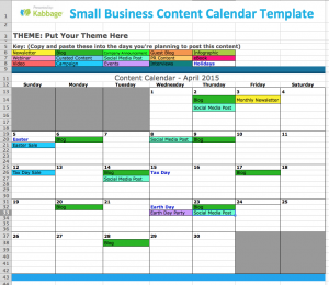 publisher calendar templates small business content calendar template