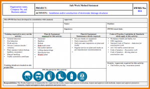 purchase order templates word statements of work swms preview