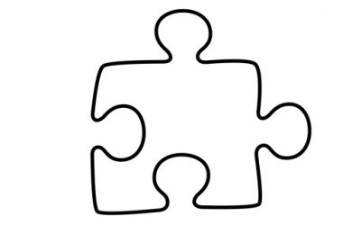 puzzle piece template puzzle piece template