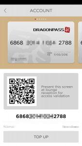 qr code business cards dragonpass qr
