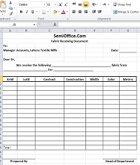 query letter format shipment received letter and form format in excel