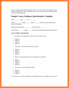 questionnaire template word format of a questionnaire questionnaire template word x