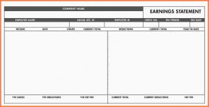 quickbooks pay stub template free blank pay stub template free basic paystub template excel
