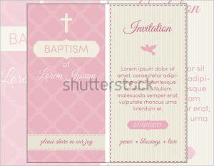 quinceanera invitations templates baptism invitation template pink