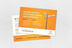 real estate agent flyer property advice leaflet